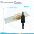 sterilized disposable tubes
